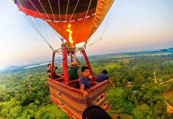 air ballooning in sri lanka