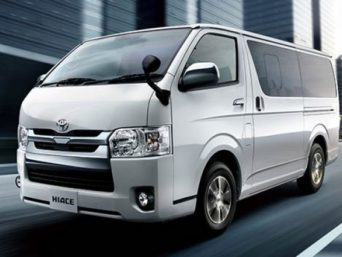 Toyota KDH High Roof Van | Nefelibata Travels